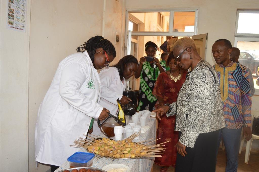 Le Département du Génie Agroalimentaire lors de la présentation de ses produits